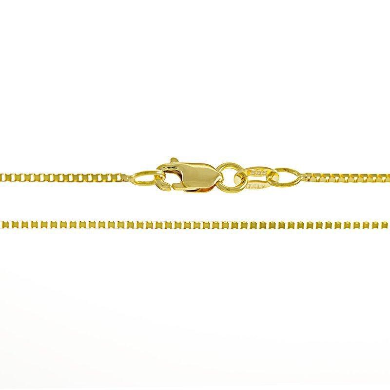 Box Chain 0.8 mm (14K)