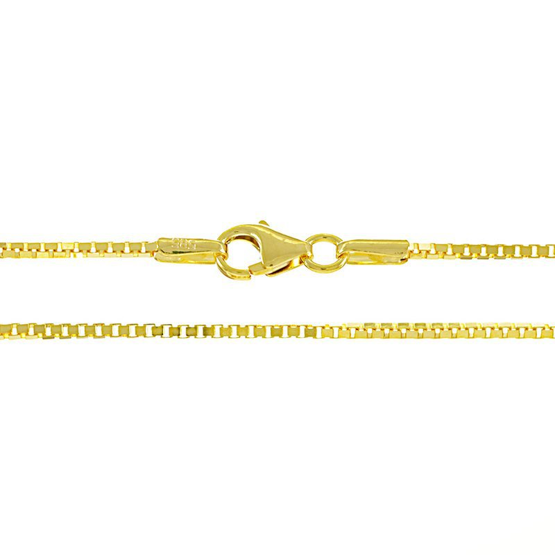 Box Chain 1.0 mm (14K)