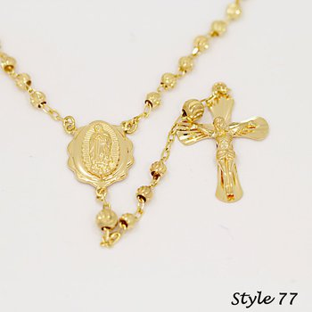 14K Rosaries-Medium Weight (#77)