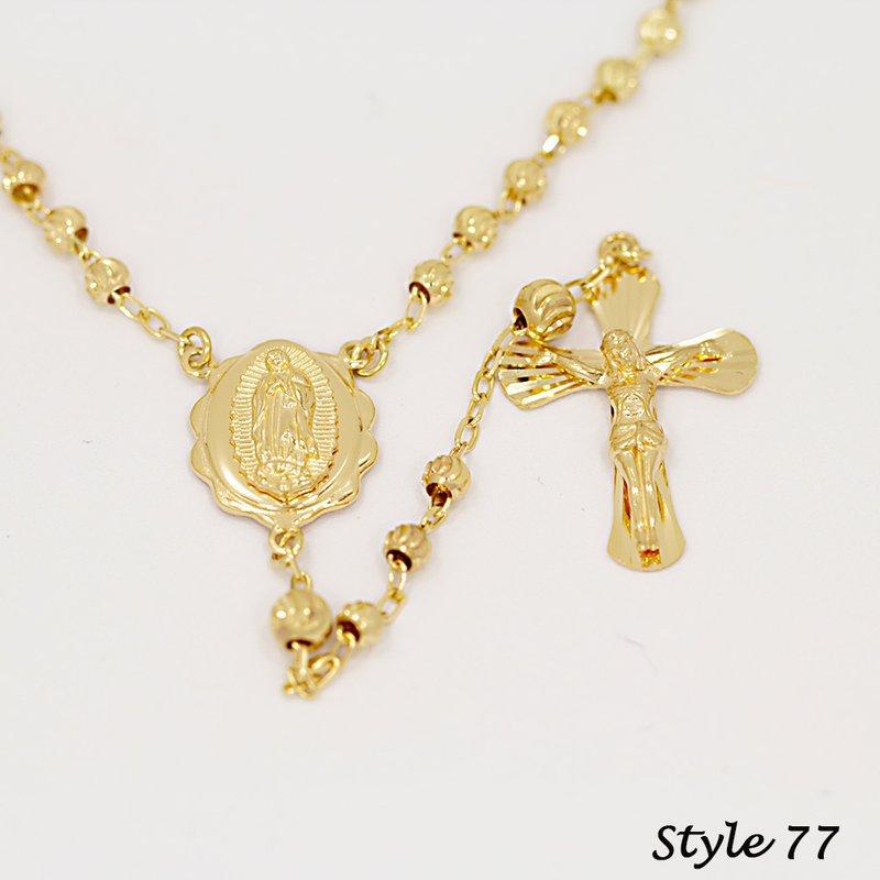 14K Rosaries-Medium Weight (#77)