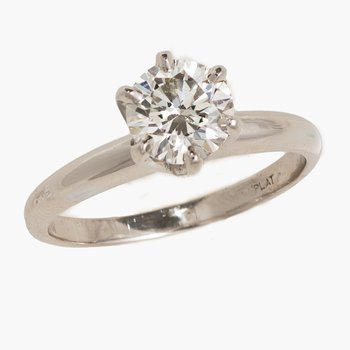 Diamond 2.01ct Solitaire Engagement Ring  #010346