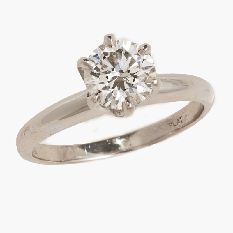 King's Bridal Diamond 2.01ct Solitaire Engagement Ring  #010346
