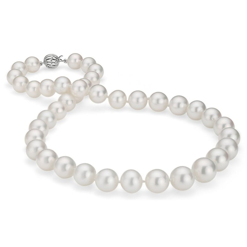 King's Cultured 8 1/2mm to 8mm Pearl Strand 18""