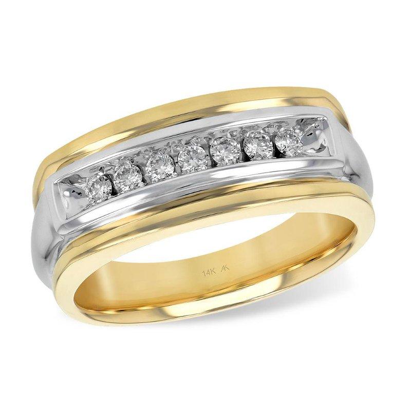 King's Bridal Men's Diamond Wedding Band .25tw   #030234
