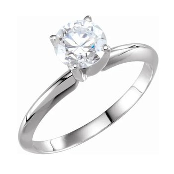 Diamond Solitaire 1.51ct Engagement Ring