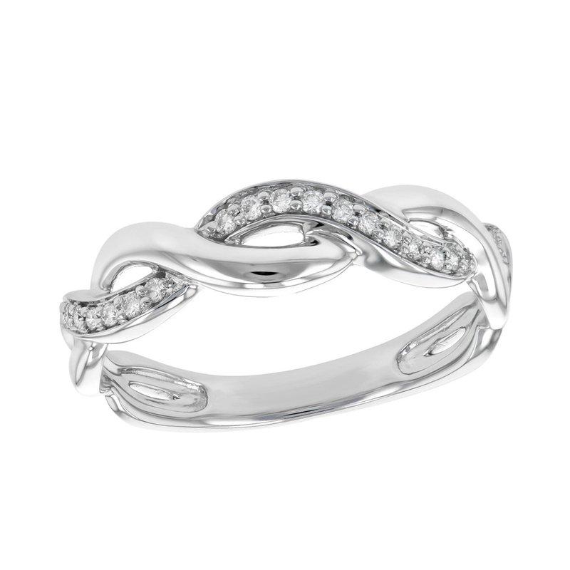 King's Bridal White Gold Diamond Band .10tw   #050345