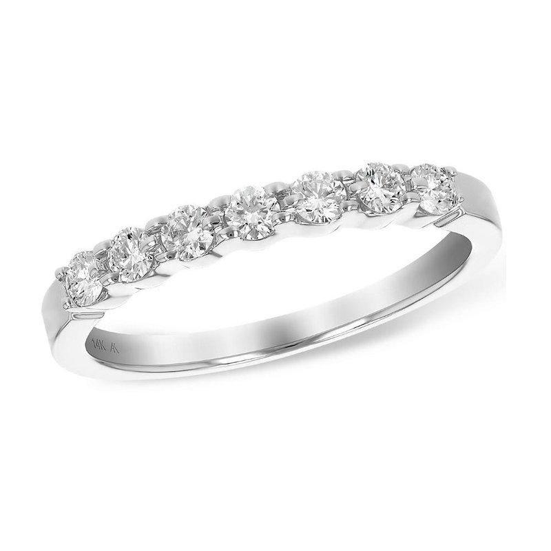 King's Bridal Diamond Band Shared Prong .33tw   #050743