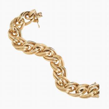 Prev Enjoyed 18k Yellow Large Link Bracelet