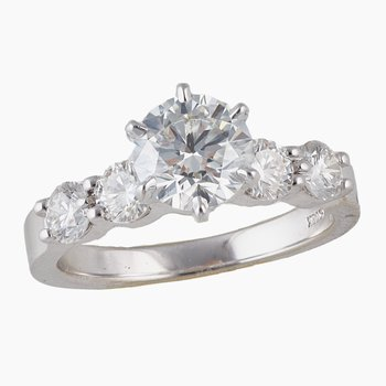 Diamond Engagement Ring 2.05tw