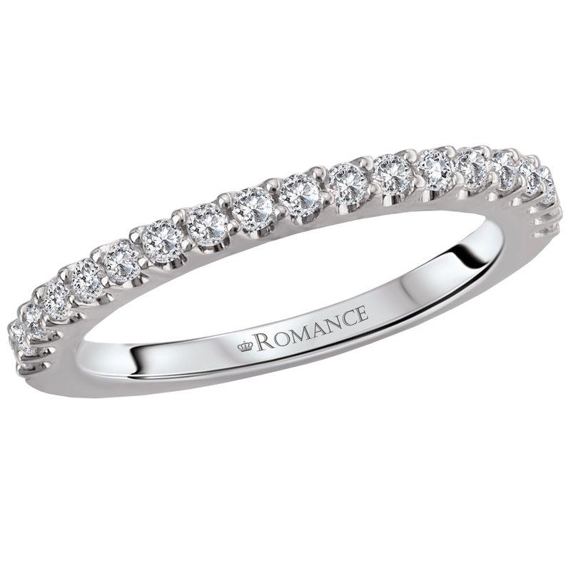 King's Bridal Diamond Band Prong Set 14kt ,33tw   #050852