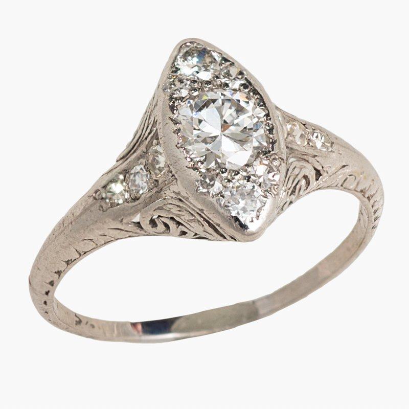 King's Estate Estate Vintage Diamond Ring