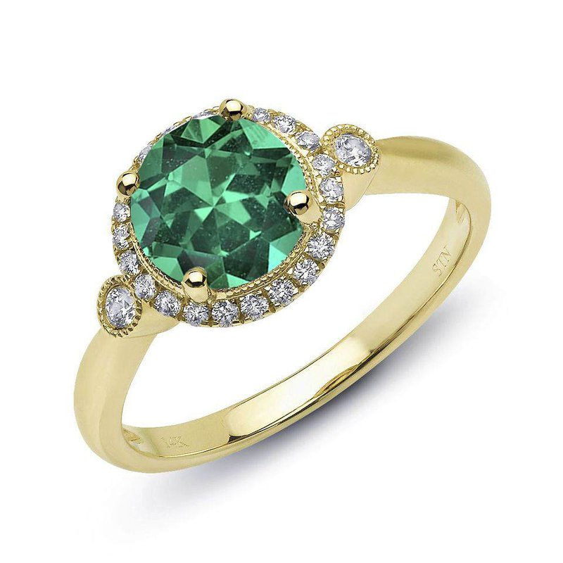 King's Emerald and Diamond Ring