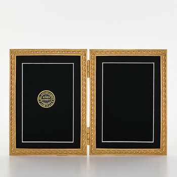 Elias Frame 5x7 Double Gold Rope
