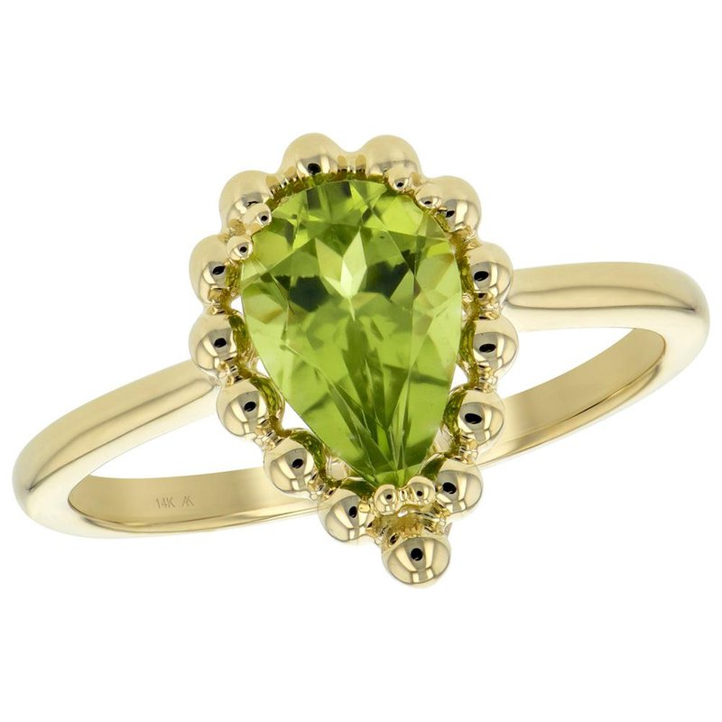 King's Peridot Ring