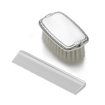 Boy's Brush & Comb Set Sterling
