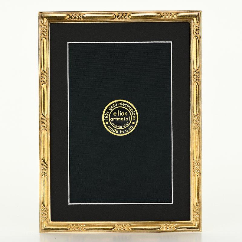 Elias Artmetal Elias Frame 5x7 Lakeside Gold