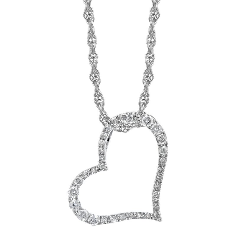 King's Diamond Heart Pendant