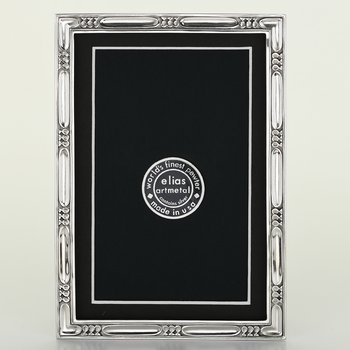 Elias Frame 4x6 Lakeside Pewter