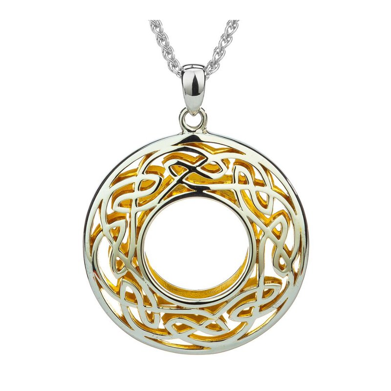 """Keith Jack """"Window to the Soul"""" Sterling & 22kt Gilded"""