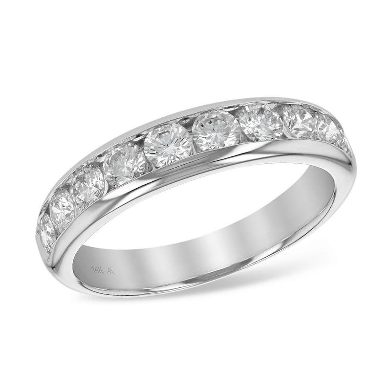 King's Bridal Channel Set Diamond Band 1.00tw   #040203