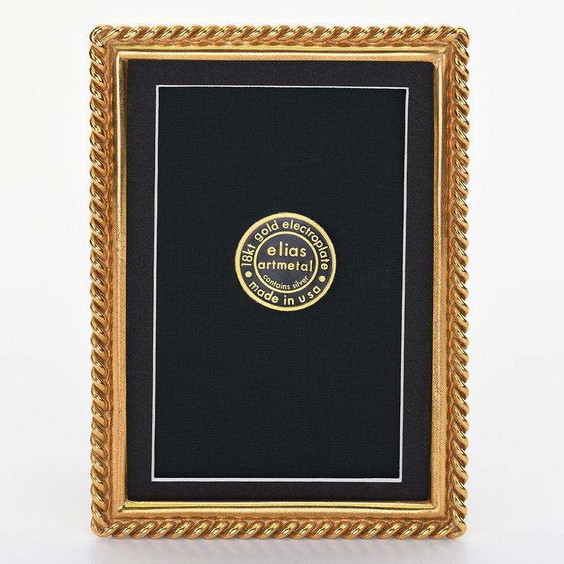 Elias Artmetal Elias Frame 4x6 Chain Gold