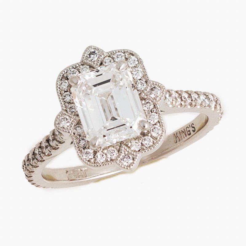 King's Bridal Diamond Engagement Ring