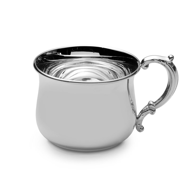 Lifetime Brands Baby Cup Pot Belly  Sterling