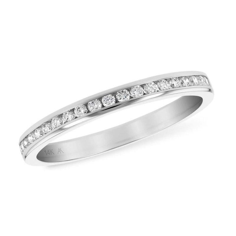 King's Bridal Channel Set Diamond Band .25tw   #050132