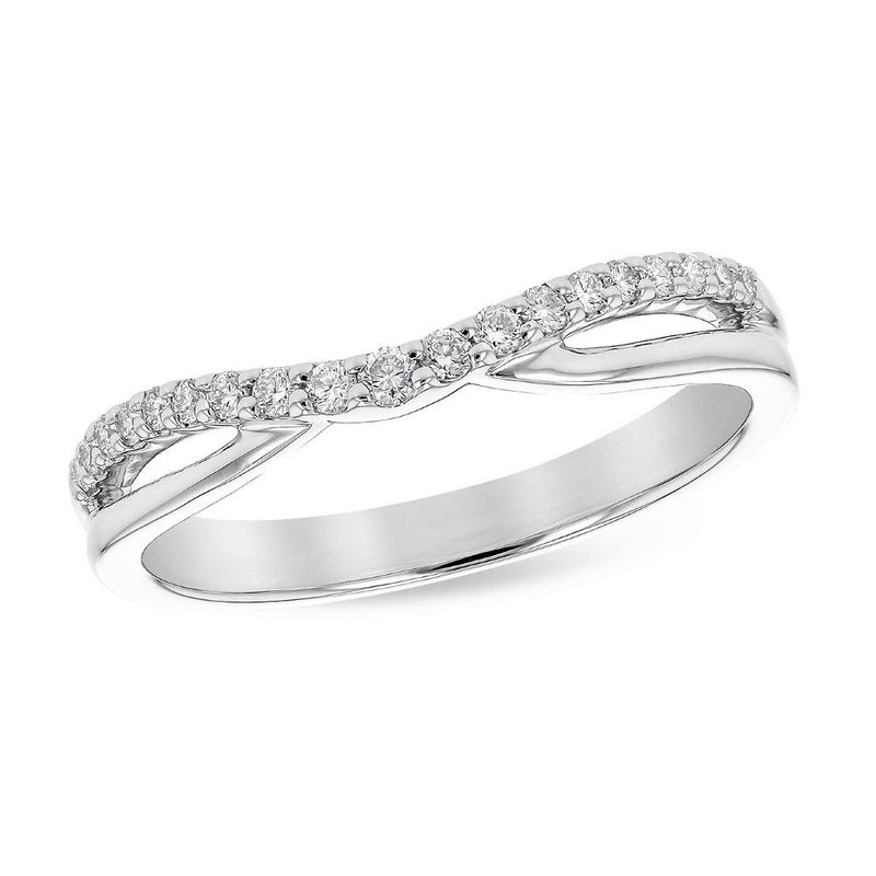 King's Bridal Contoured Diamond Band   #050747