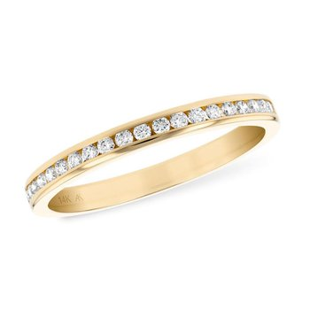 Channel Set Diamond Band .25tw  #050261