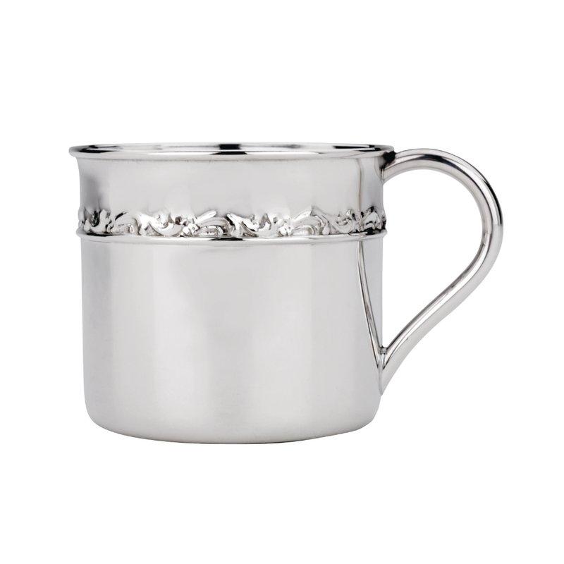 Lenox - Reed & Barton Tara Baby Cup Sterling