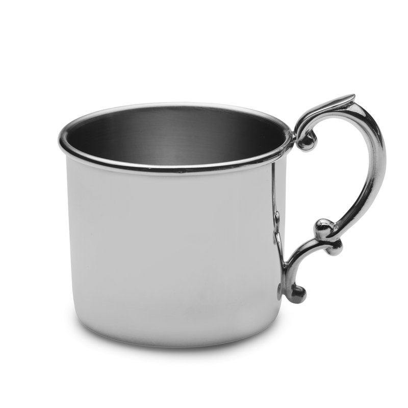 Lifetime Brands Baby Cup Classic  Pewter