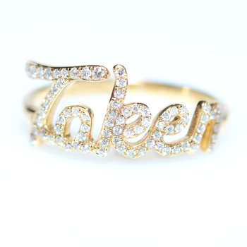 """Taken"" Diamond Promise Ring"