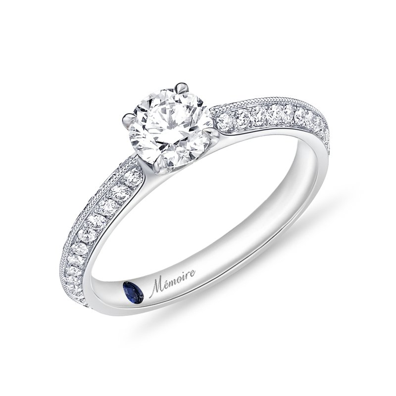 Memoire Diamond Engagement Ring
