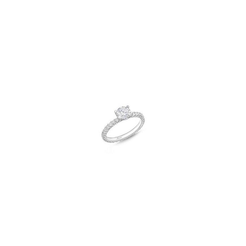 Memoire Diamond Eternity Engagement Ring