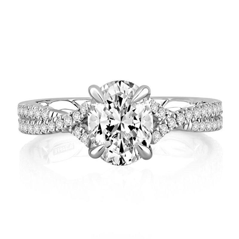 A. Jaffe Majestic Signature Diamond Engagement Ring