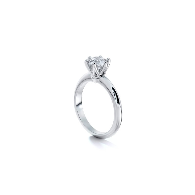 Sasha Primak Solitaire Engagement Ring