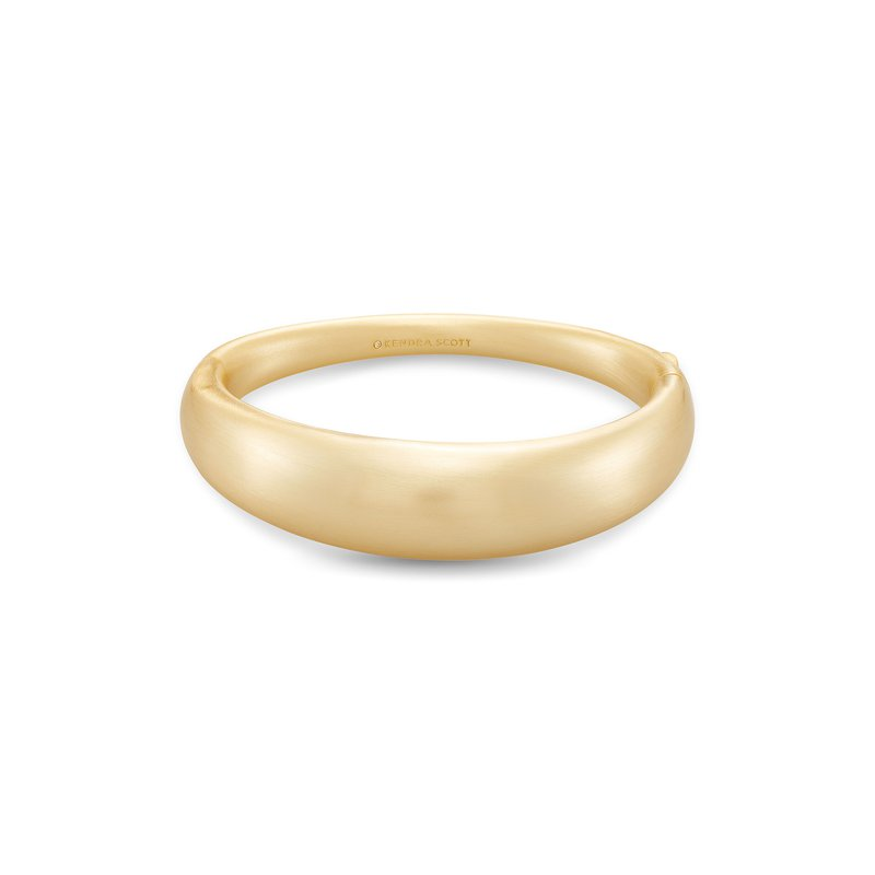 Kendra Scott Kaia Bangle Bracelet In Gold