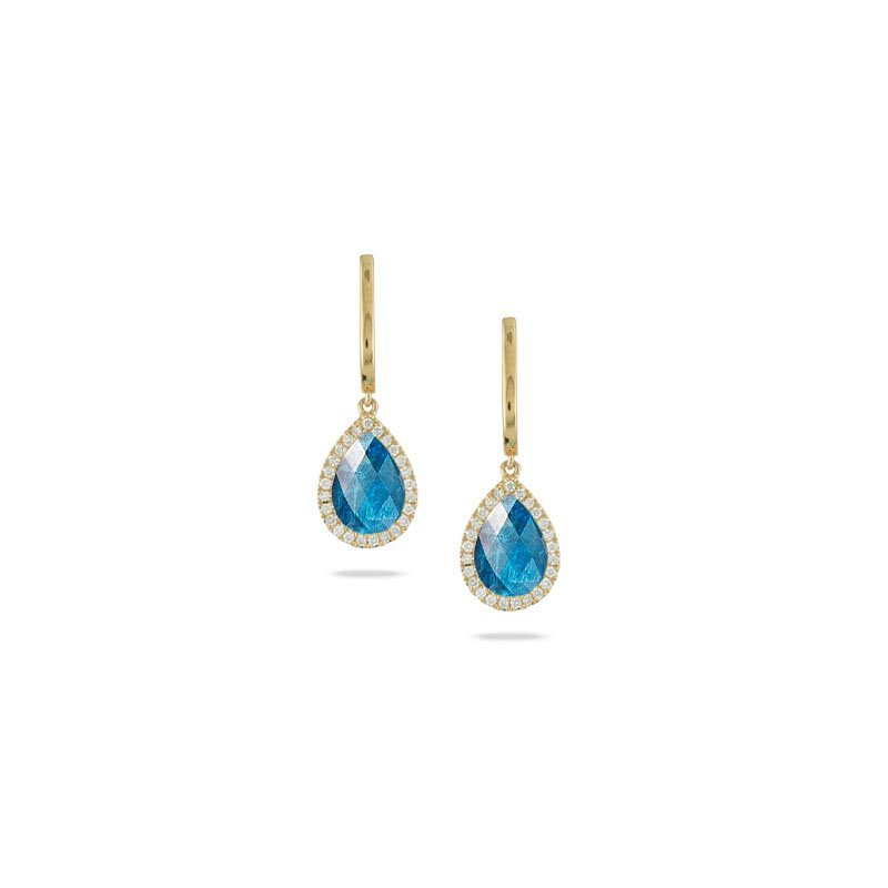 Doves Laguna Apatite Drop Earrings