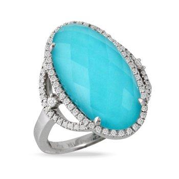 St. Barths Blue Ring