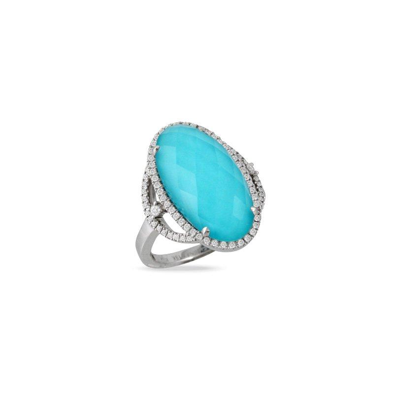 Doves St. Barths Blue Ring