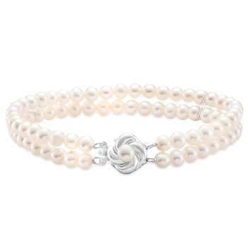 Two Strand Pearl Bracelet
