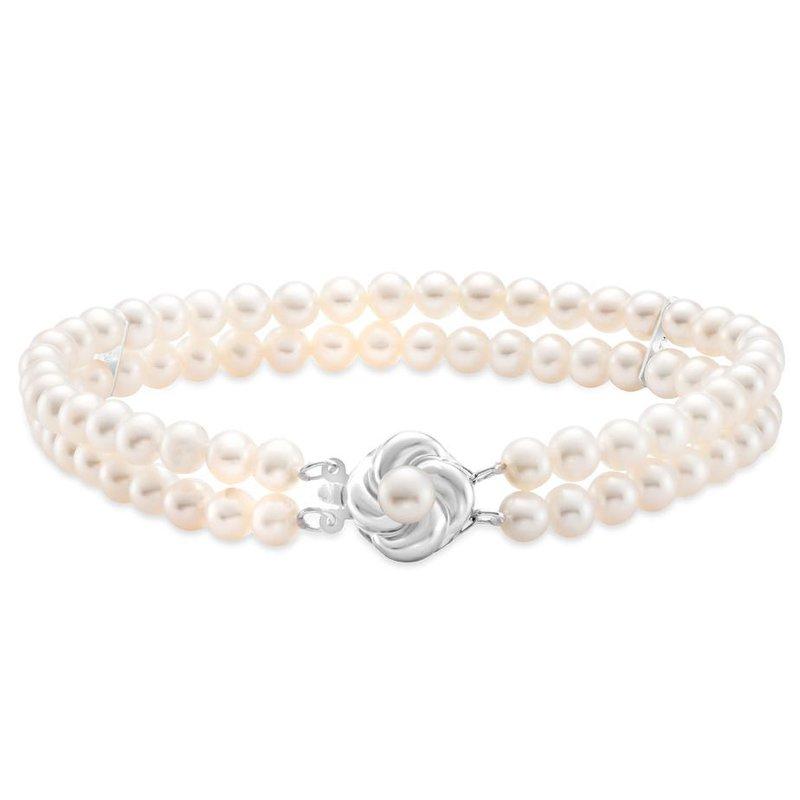 Mastoloni Pearls Two Strand Pearl Bracelet