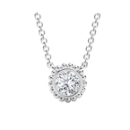 Forevermark Tribute Collection The Forevermark Tribute™ Collection Round Beaded Pendant