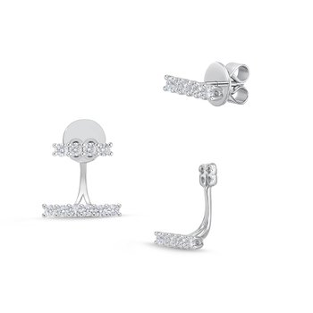 Bar Collection Stud with Earring Jacket