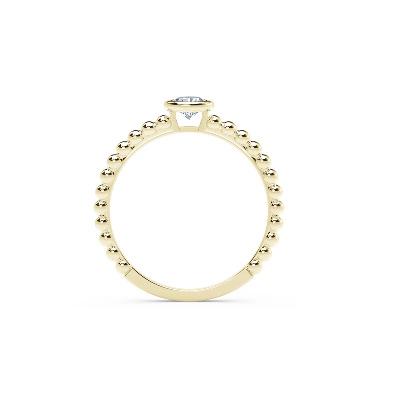 Forevermark Tribute Collection The Forevermark Tribute ™ Collection Beaded Solitaire Ring