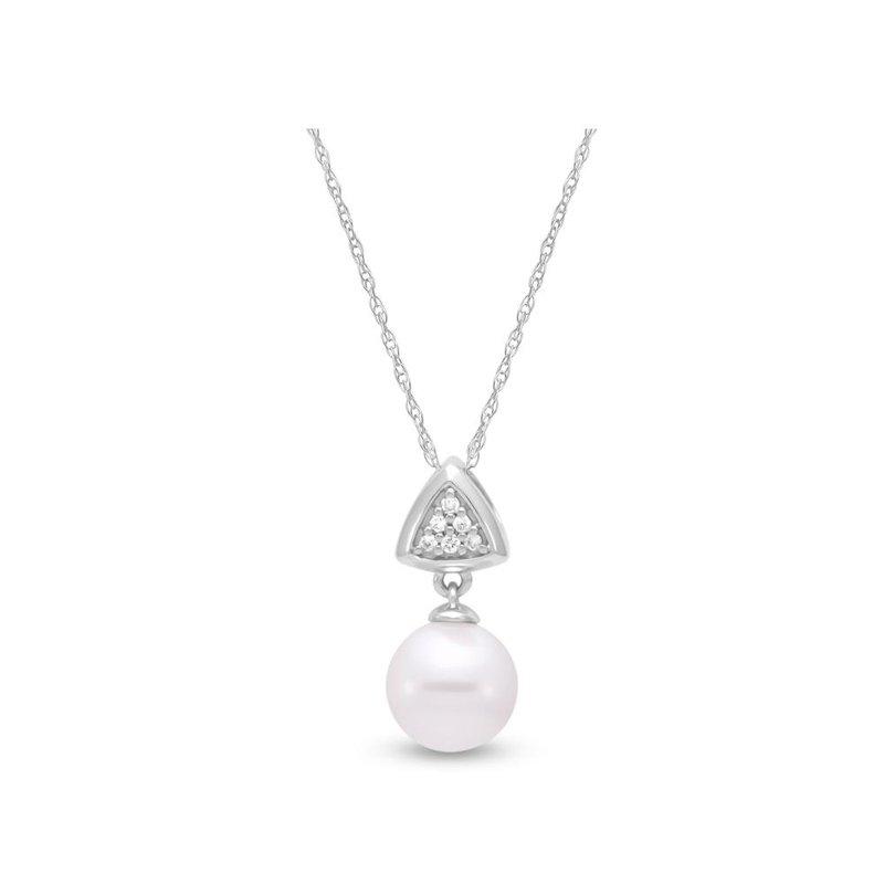 Mastoloni Pearls Antique Triangle Pendant