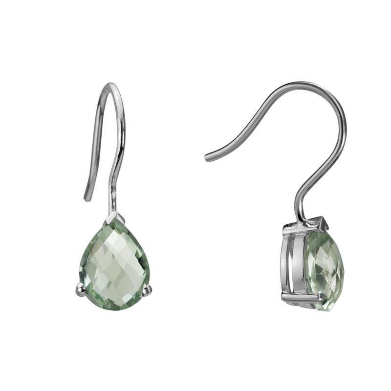 Artistry Limited Prasiolite and Silver Earrings
