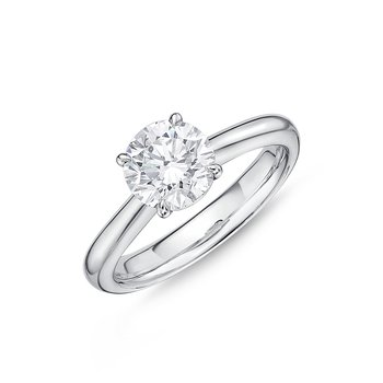 Diamond Solitaire Enagement Ring