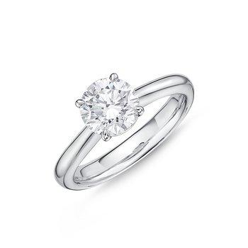 Diamond Solitaire Enagement Ring